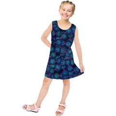 Background Abstract Textile Design Kids  Tunic Dress by Nexatart
