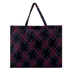 Computer Graphics Webmaster Novelty Zipper Large Tote Bag by Nexatart