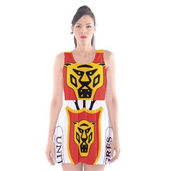 Burundi Coat of Arms  Scoop Neck Skater Dress by abbeyz71