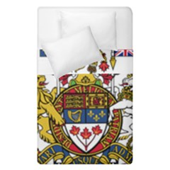 Coat Of Arms Of Canada  Duvet Cover Double Side (single Size) by abbeyz71
