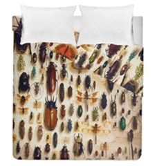 Insect Collection Duvet Cover Double Side (Queen Size) by Nexatart