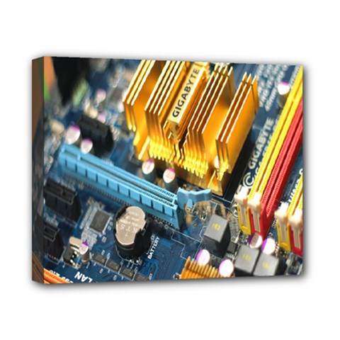 Technology Computer Chips Gigabyte Canvas 10  X 8