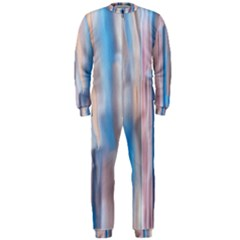Vertical Abstract Contemporary Onepiece Jumpsuit (men)  by Nexatart