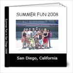 San Diego 2008 - 8x8 Photo Book (30 pages)