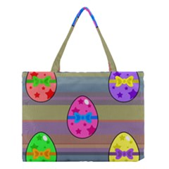 Holidays Occasions Easter Eggs Medium Tote Bag by Nexatart