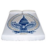 Presidential Inauguration Republican President Trump Pence 2017 Logo Fitted Sheet (California King Size)