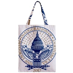 Presidential Inauguration USA Republican President Trump Pence 2017 Logo Zipper Classic Tote Bag by yoursparklingshop