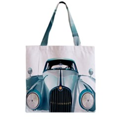 Oldtimer Car Vintage Automobile Grocery Tote Bag by Nexatart