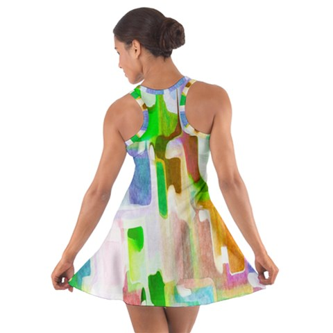 Cotton Racerback Dress