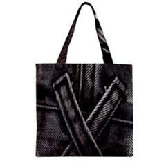 Backdrop Belt Black Casual Closeup Zipper Grocery Tote Bag by Nexatart