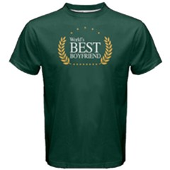 World s best boyfriend - Men s Cotton Tee by FunnySaying