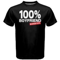 100% Boyfriend    Men s Cotton Tee by FunnySaying