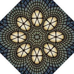Stained Glass Colorful Glass Hook Handle Umbrellas (large) by Nexatart