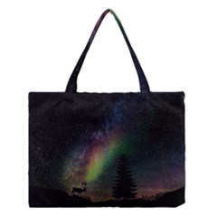 Starry Sky Galaxy Star Milky Way Medium Tote Bag by Nexatart
