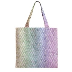 The Background Wallpaper Mosaic Zipper Grocery Tote Bag by Nexatart