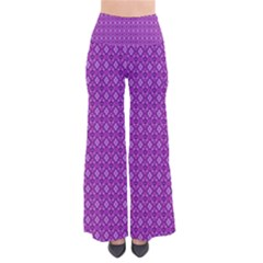 Surface Purple Patterns Lines Circle Pants