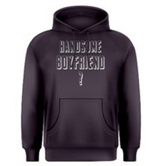 Handsome boyfriend - Men s Pullover Hoodie by FunnySaying