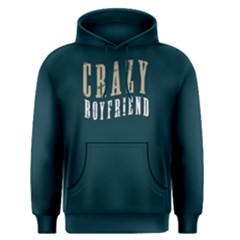 Crazy Boyfriend   Men s Pullover Hoodie by FunnySaying