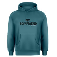 No Boyfriend   Men s Pullover Hoodie by FunnySaying
