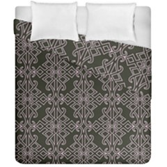 Line Geometry Pattern Geometric Duvet Cover Double Side (california King Size)