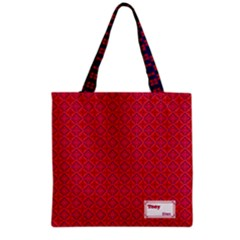 Colour Wave Grocery Tote Bag by daydreamer