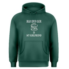 Green Hamburger Is My Hamburger  Men s Pullover Hoodie by FunnySaying