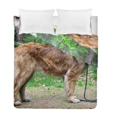 Leonberger Full Duvet Cover Double Side (Full/ Double Size) by TailWags