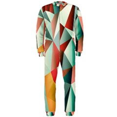 Abstracts Colour OnePiece Jumpsuit (Men)  by Nexatart