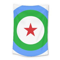 Roundel Of Djibouti Air Force  Small Tapestry by abbeyz71