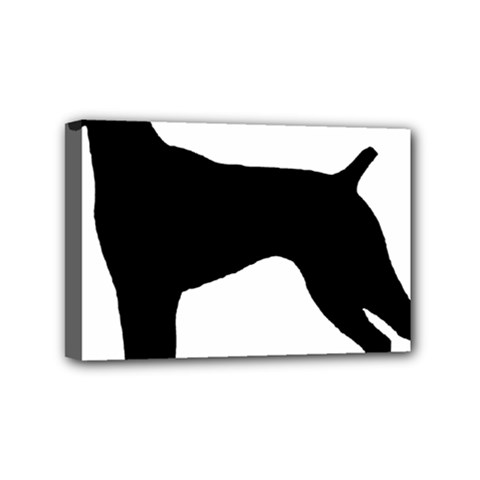 German Shorthaired Pointer Silo Mini Canvas 6  x 4  by TailWags