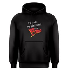 Black I  d Trade My Girl For A Pizza  Men s Pullover Hoodie by FunnySaying