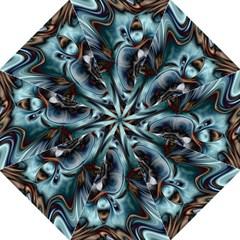 Light Color Floral Grey Folding Umbrellas by Alisyart