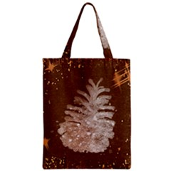 Background Christmas Tree Christmas Zipper Classic Tote Bag by Nexatart