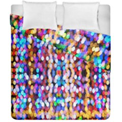 Bokeh Abstract Background Blur Duvet Cover Double Side (california King Size) by Nexatart