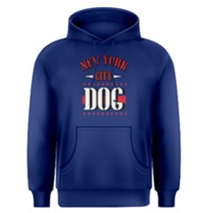 New York City dog - Men s Pullover Hoodie by FunnySaying