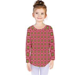 Christmas Paper Wrapping Kids  Long Sleeve Tee by Nexatart