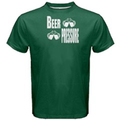 Green beer pressure Men s Cotton Tee by FunnySaying