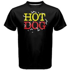 Hot dog - Men s Cotton Tee