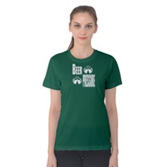 Green beer pressure Women s Cotton Tee by FunnySaying