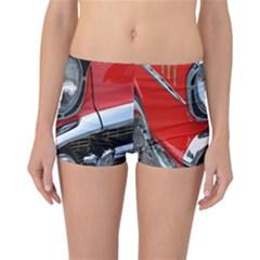 Classic Car Red Automobiles Reversible Bikini Bottoms by Nexatart
