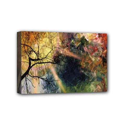 Decoration Decorative Art Artwork Mini Canvas 6  x 4  by Nexatart