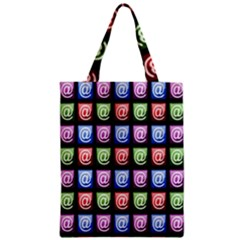 Email At Internet Computer Web Zipper Classic Tote Bag by Nexatart