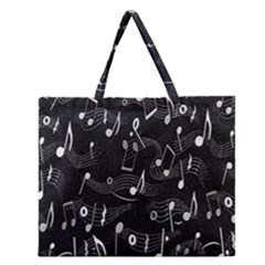 Fabric Cloth Textile Clothing Zipper Large Tote Bag by Nexatart