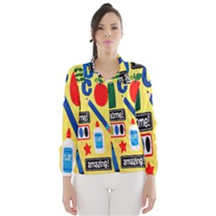 Fabric Cloth Textile Clothing Wind Breaker (women)