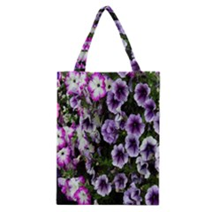 Flowers Blossom Bloom Plant Nature Classic Tote Bag by Nexatart