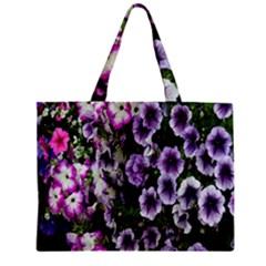 Flowers Blossom Bloom Plant Nature Zipper Mini Tote Bag by Nexatart