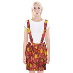 Flowers Nature Plants Autumn Affix Suspender Skirt by Nexatart