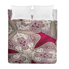 Morocco Motif Pattern Travel Duvet Cover Double Side (full/ Double Size) by Nexatart