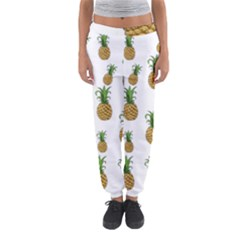 Pineapples Pattern Women s Jogger Sweatpants by Valentinaart