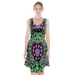 Dots And Very Hearty Racerback Midi Dress